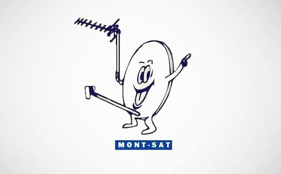 mont-sat logo, business logo fails