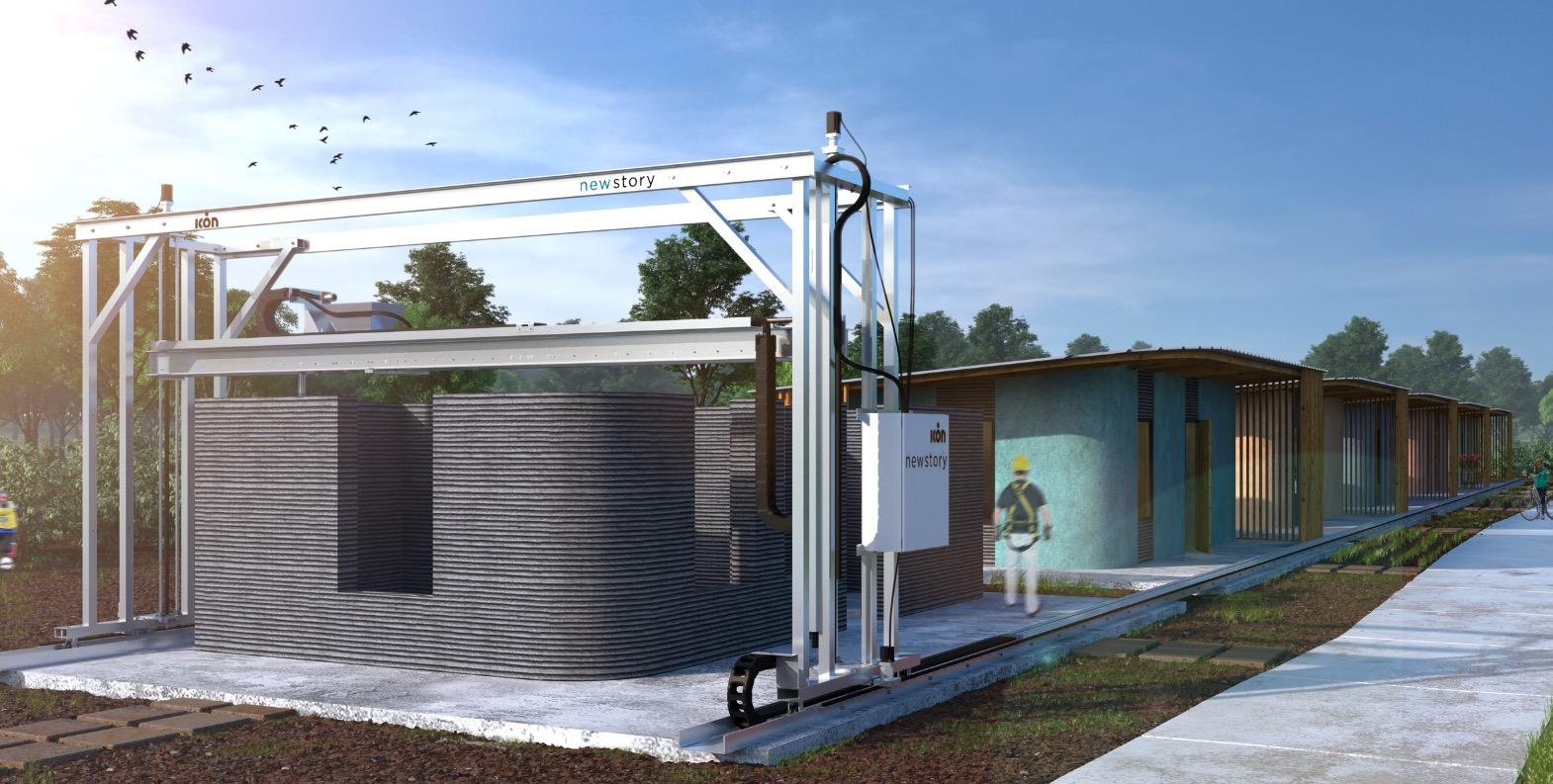 SXSW: Häuser aus dem 3D-Beton-Drucker für 1 Mrd. Menschen