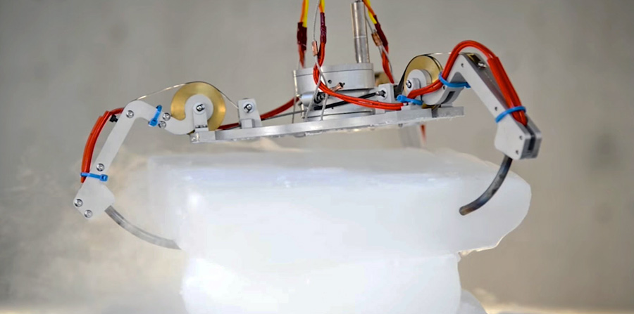 NASA-Roboter für Missionen im ewigen Space-Eis
