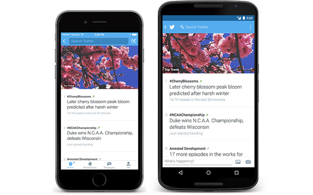 Twitter revamps trends to explain why a topic is popular