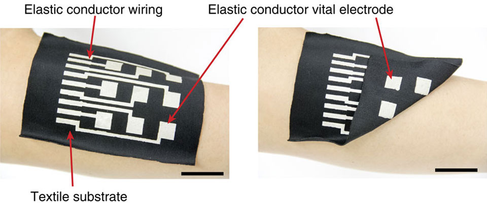 Conductive ink examples