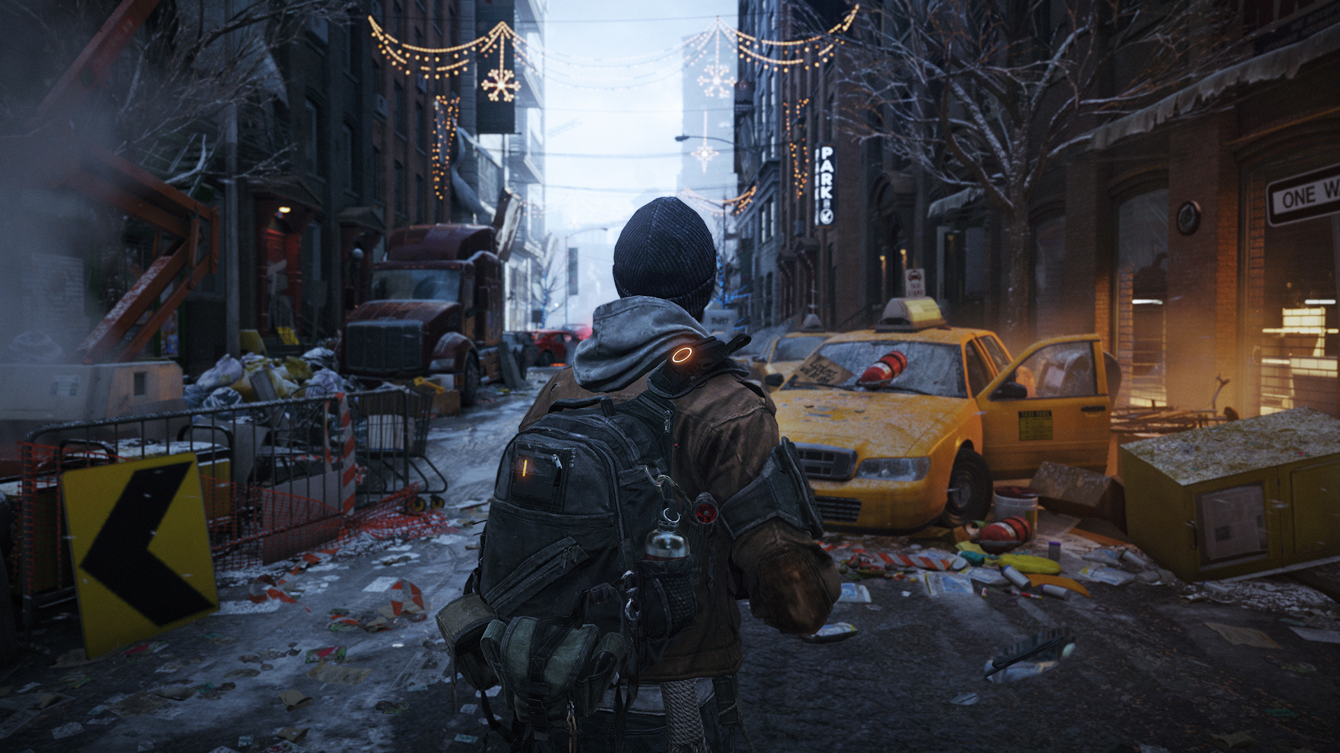 'The Division' goes cinematic in live-action story clips