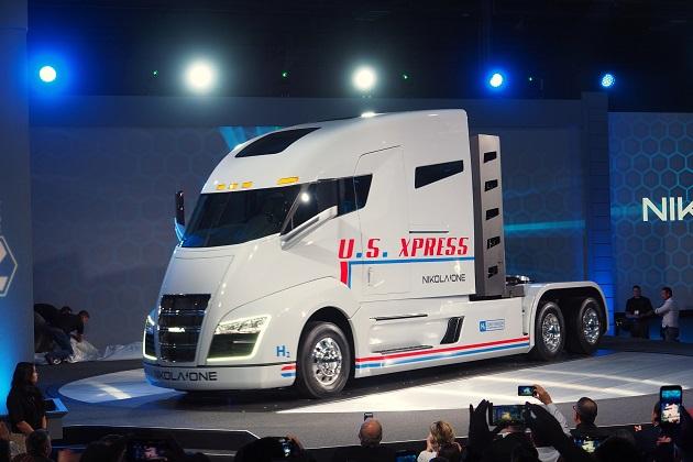 ニコラ・モーター、水素燃料電池で駆動する新型セミトラック「ニコラ・ワン」を発表!