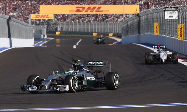 2014 Russian Grand Prix.