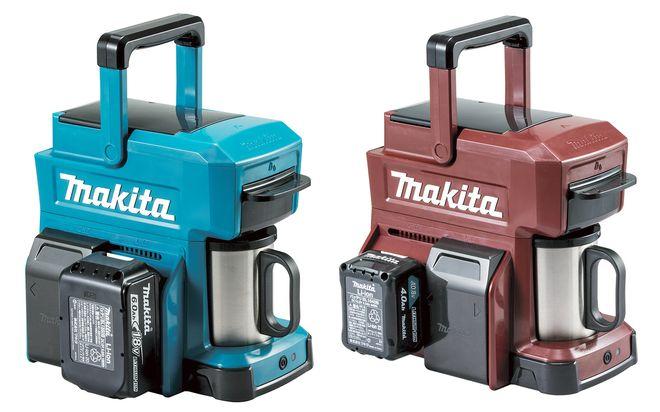 Makita CM501DZ: Kaffeemaschine läuft mit Schrauber-Akkus