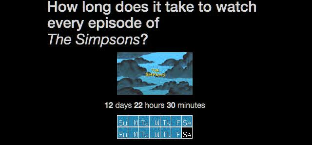 BingeClock zeigt Gesamtlaufzeit von TV-Serien