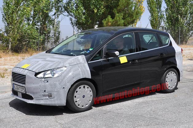 mazdaspeed forums ford c max spied with fresh updates. Black Bedroom Furniture Sets. Home Design Ideas