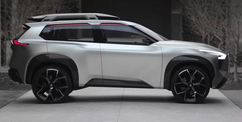 Nissan Xmotion: Holzgefasste Display-Landschaft auf 4 Rädern