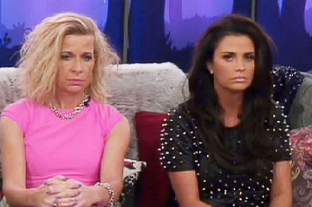 Katie Hopkins and Katie Price