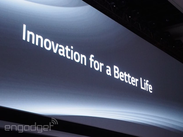 We're live from the LG G4 launch event!
