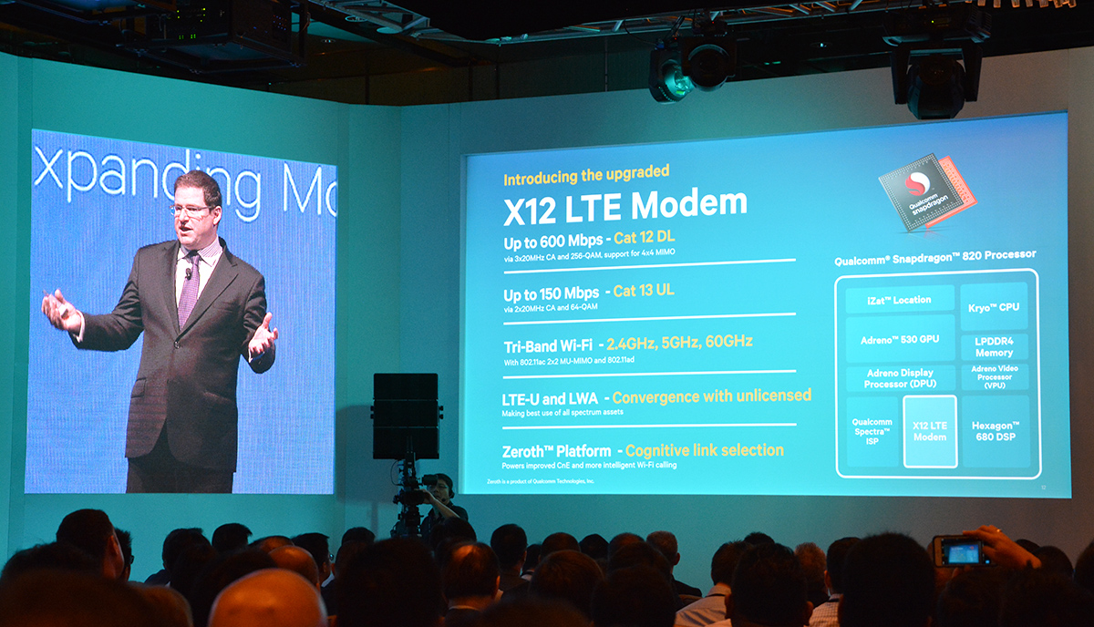 Qualcomm Snapdragon 820 Packs 600Mbps LTE-Advanced