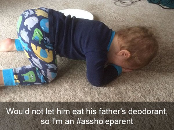 You're Probably An A-Hole Parent If You Do These Things