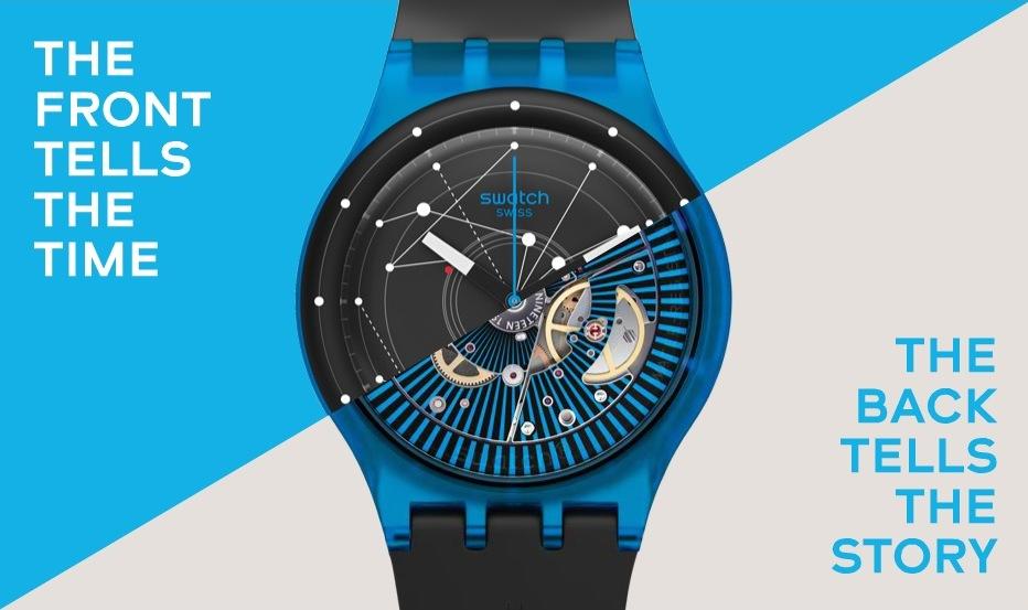 Armbanduhr swatch  Betrug: Swatch lässt Schweizer Uhr Sistem51 von Robotern bauen ...