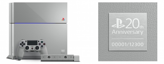 Choose between a house or the first ever 20th Anniversary Edition PS4