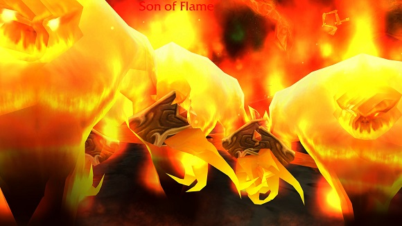 Sons of flame in your face!