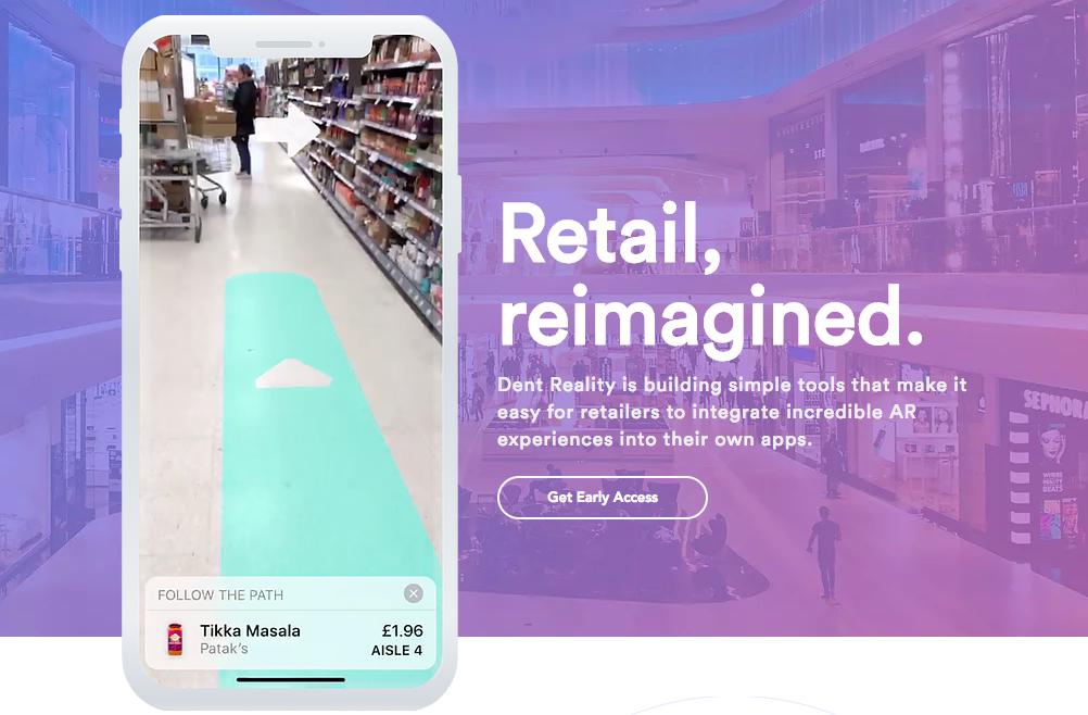 Einfacher durch den Supermarkt mit AR