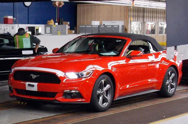 2015 ford mustang convertible ships in time for holiday gift giving. Cars Review. Best American Auto & Cars Review