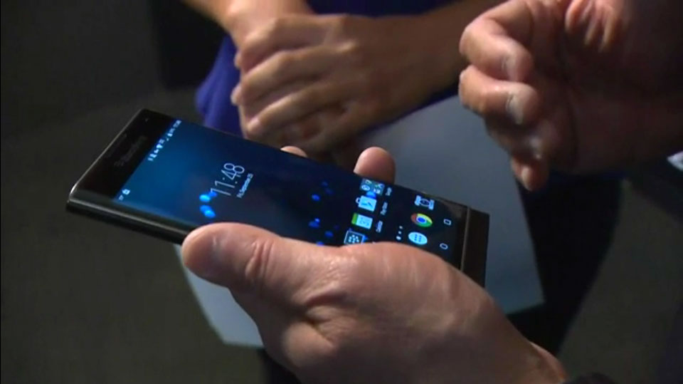 BlackBerry's CEO isn't sure how to use BlackBerry's Android phone