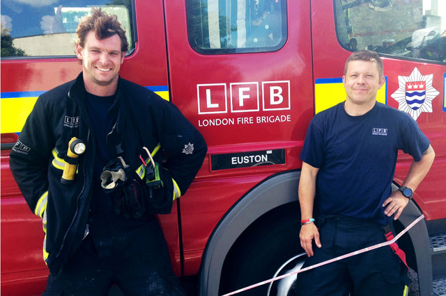 Fireman Ross McLaren