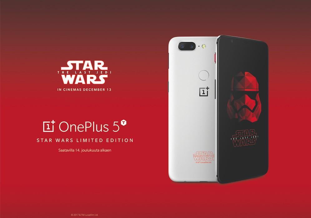 Das Star Wars OnePlus 5T kommt auch in Europa