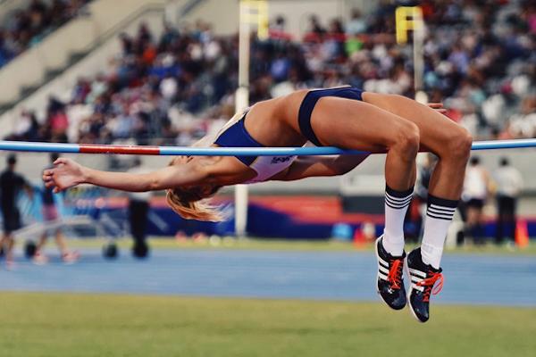 amy pejkovic sexy high jumper