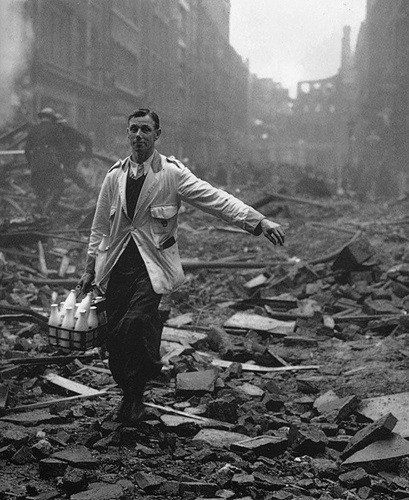 manliest photos on the internet, funny manly images, wwii milkman