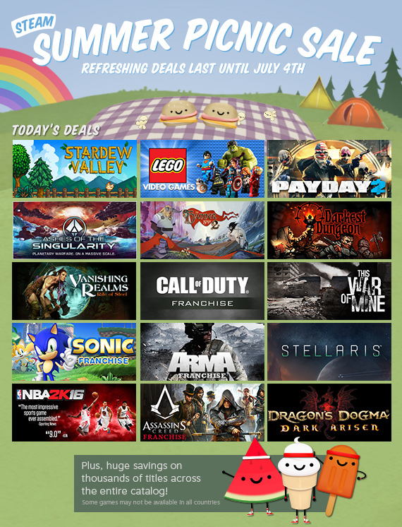 Steam startet Summer-Sale 2016