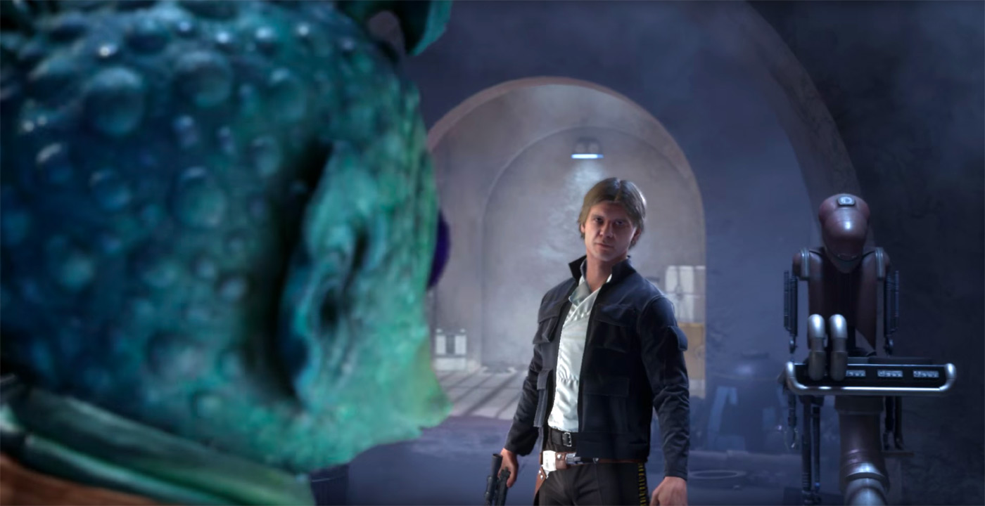 Here's how 'Star Wars Battlefront' does Jabba the Hutt's palace
