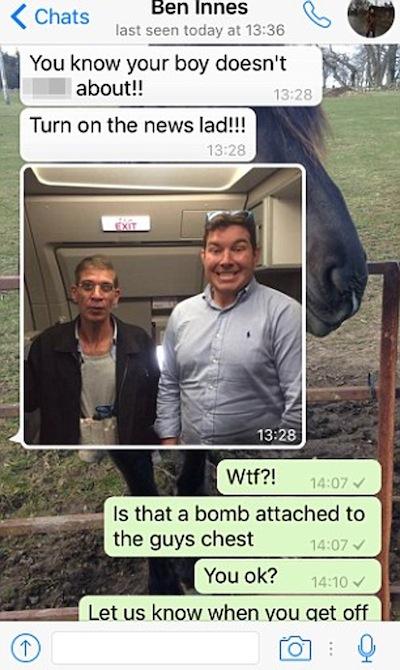 ben innes hijacker photo, ben innes text