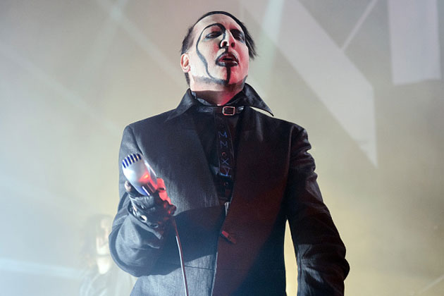 Marilyn Manson released his latest album on early PlayStation CDs
