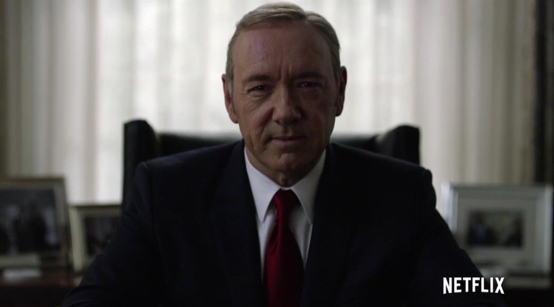 Aquí tienes el nuevo tráiler de la cuarta temporada de House of Cards