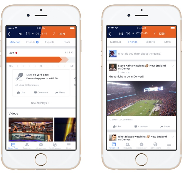 Facebook wants Sports Stadium to host your big game chatter