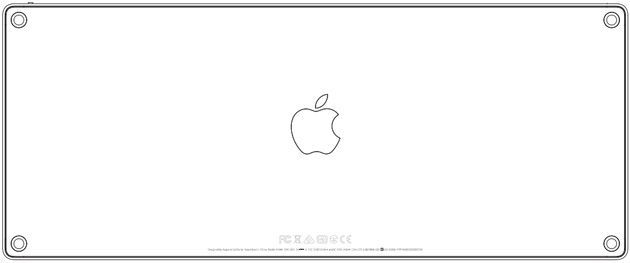 Apple's 2015 Wireless Keyboard at the FCC