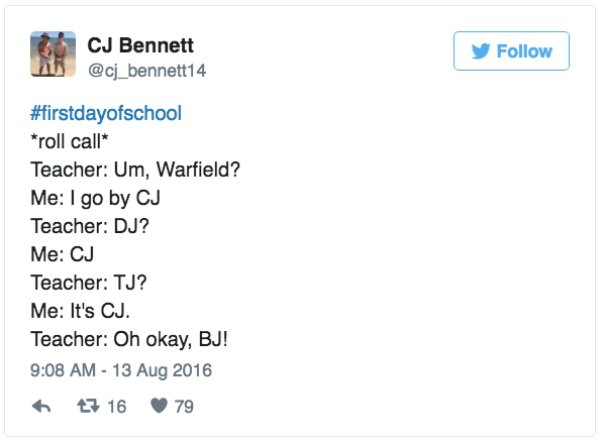 Tweets That Remind Us How Much We Hated The First Day Of School