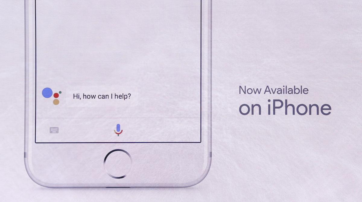 Google I/O: Google Assistent ab heute auch auf dem iPhone