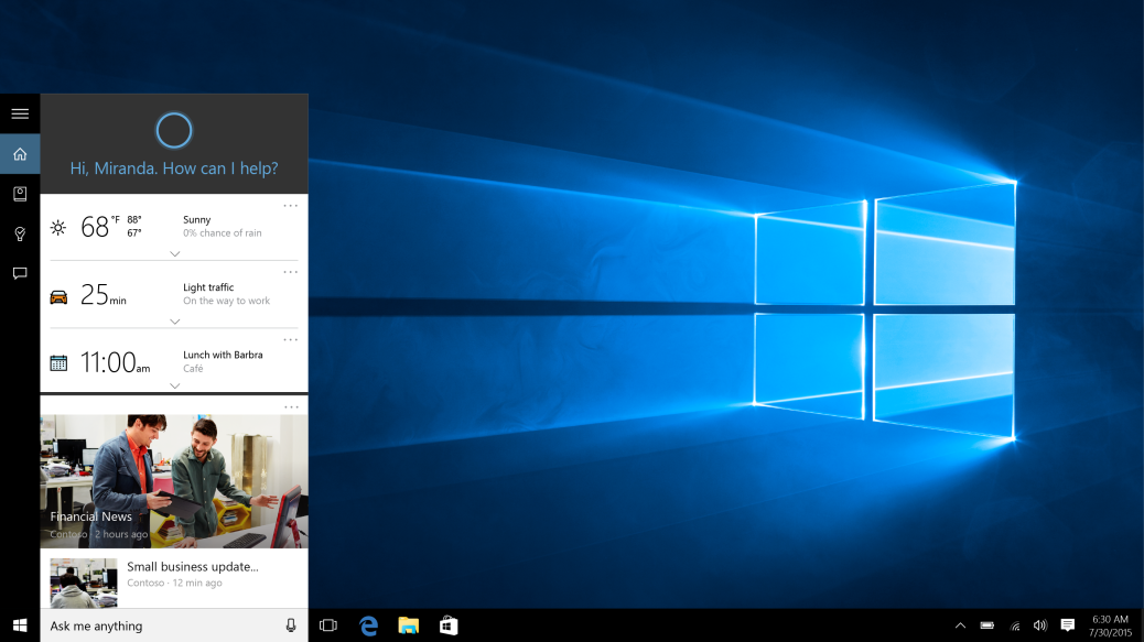 Cortana won't let you search with Google in Windows 10