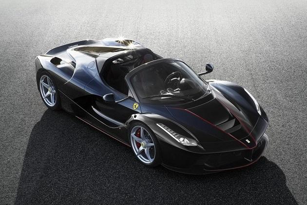 すでに予約完売済み! フェラーリ、「ラ フェラーリ」のオープントップ・バージョンを公開