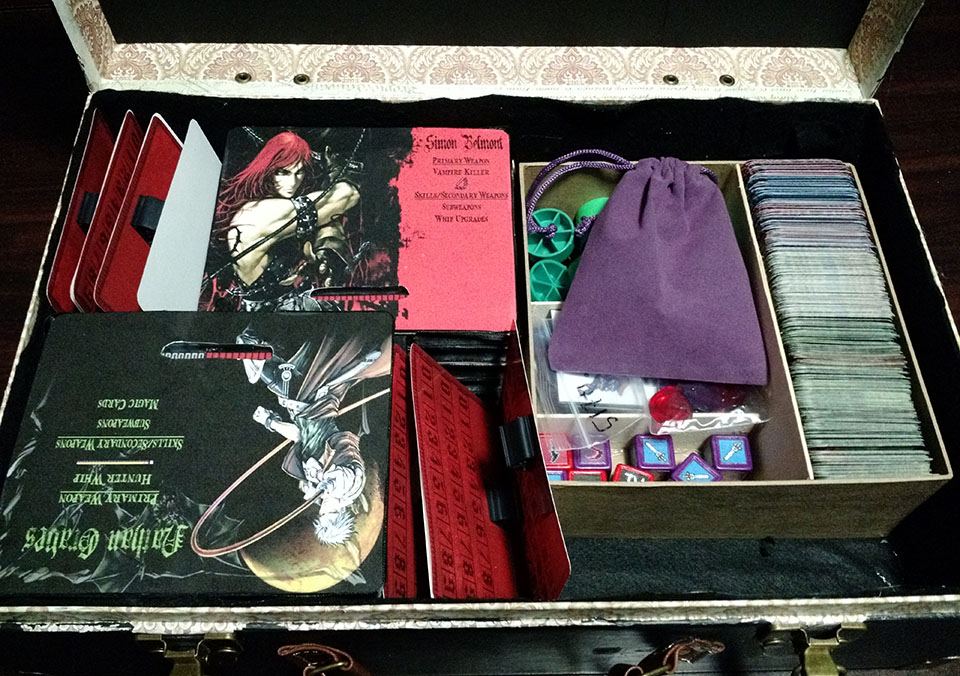 Homemade 'Castlevania' board game looks beautiful and fun to play