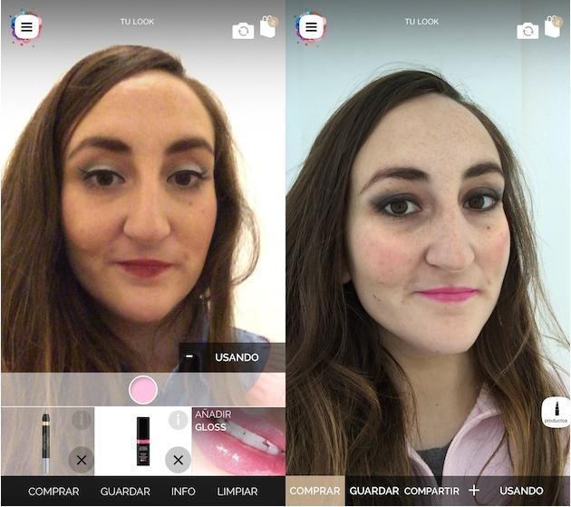 Conocemos cómo funciona Make Up Genius, la app de reconocimiento facial de L'Oréal