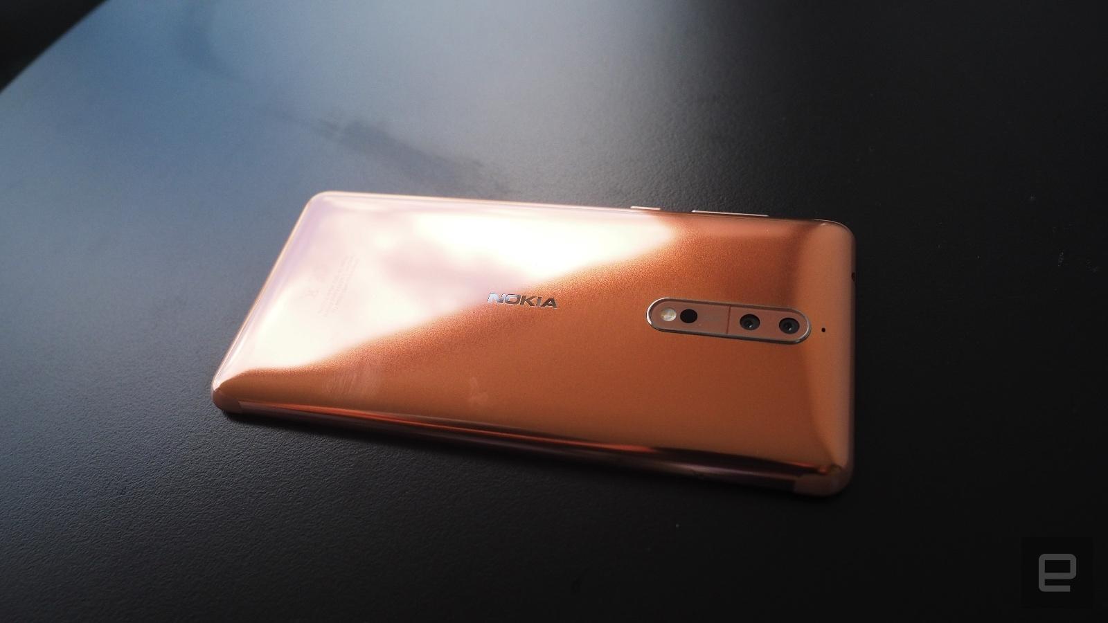 Nokia 8: Ab morgen in Deutschland erhältlich