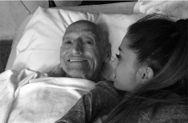 Ariana Grande cancels UK tour sick grandfather