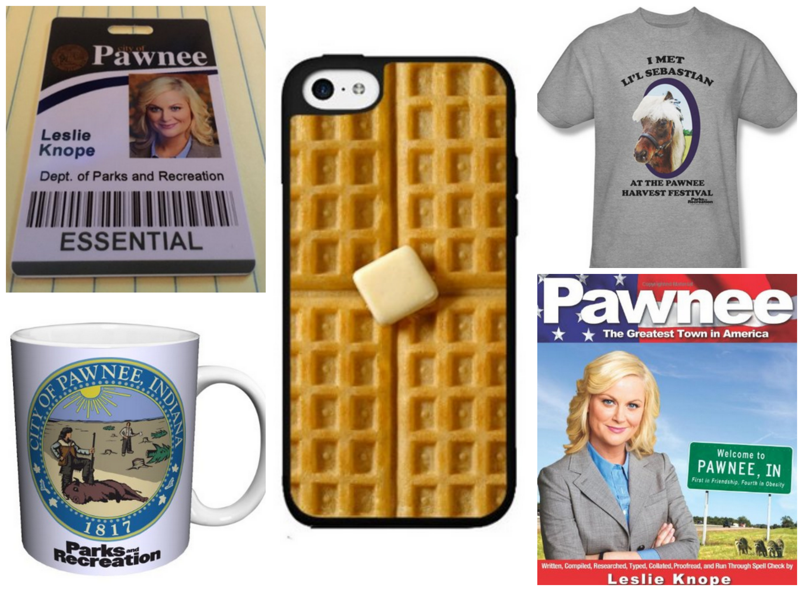 Leslie Knope Parks and Recreation Halloween Costume
