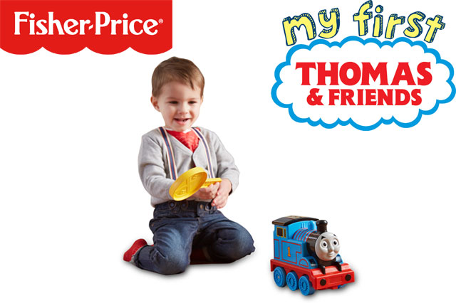 WIN a Fisher-Price Motion Control Thomas toy!