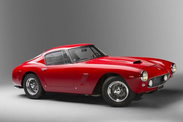 10億円超えは必至! 極上の1961年型フェラーリ「250GT SWBベルリネッタ」がオークションに
