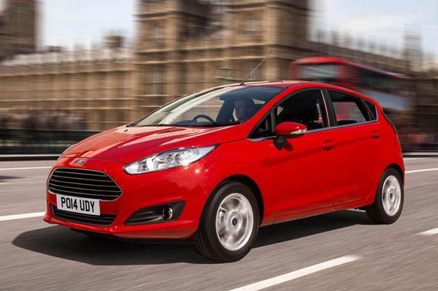Ford Fiesta in London