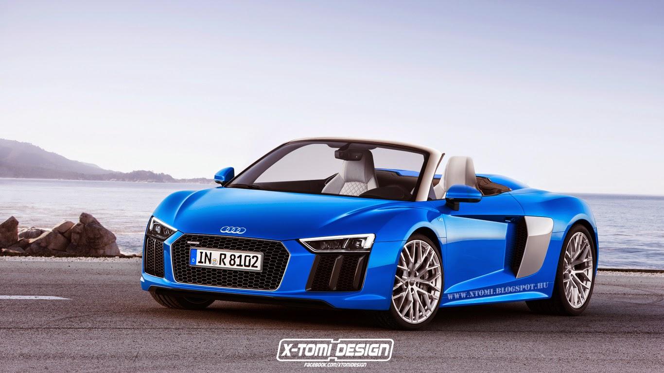 Vorschau: Der neue Audi R8 Spyder