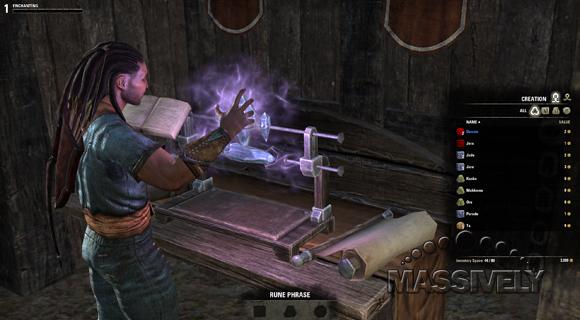 Elder Scrolls Online enchanting