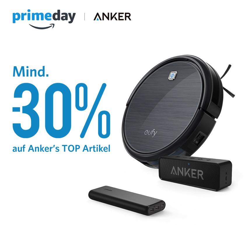 Das geht heute bei Anker zum Amazon Prime Day