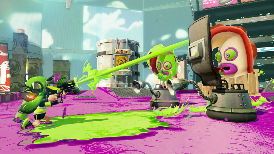 JXE Streams: 'Splatoon' seduces us with squids and squirt guns