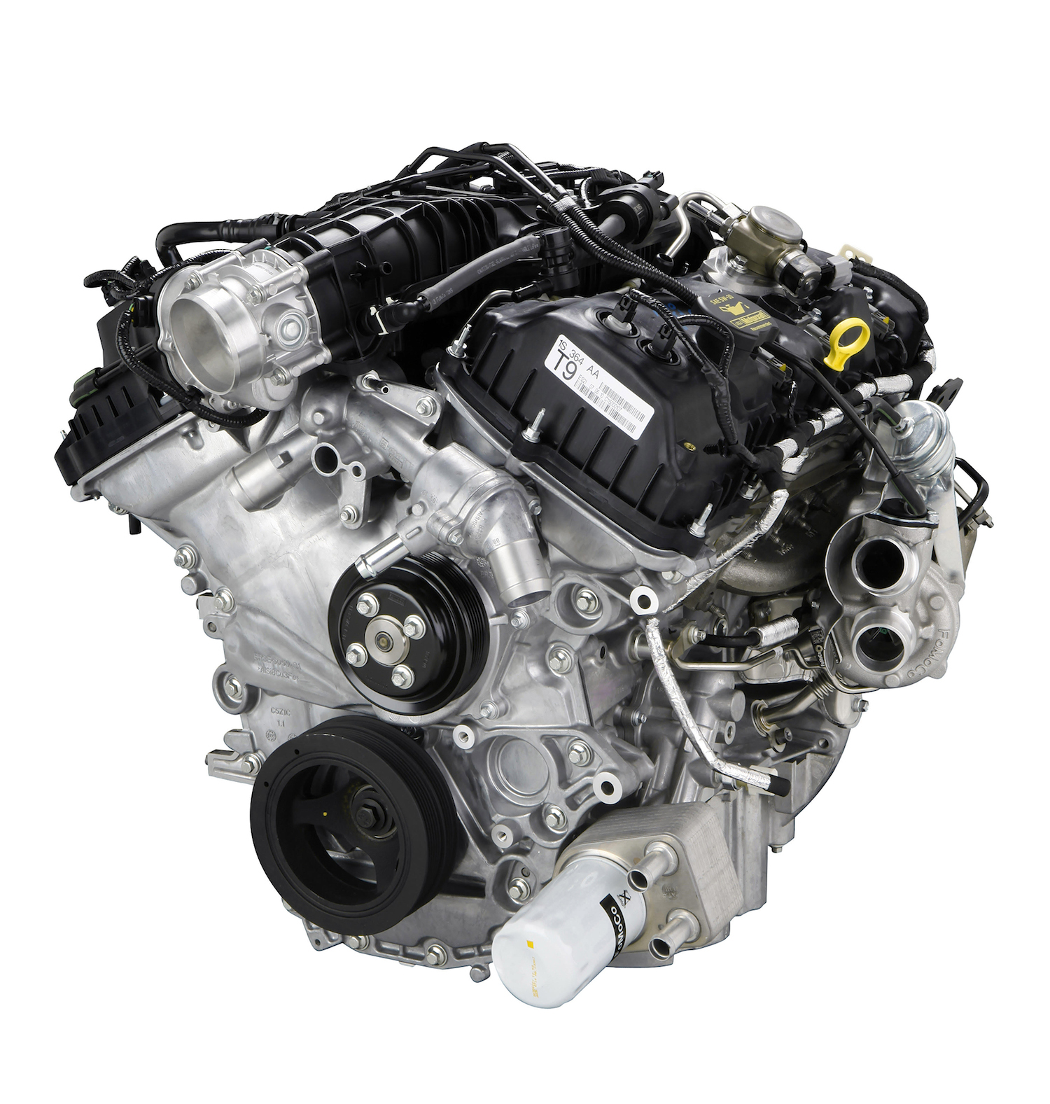 The 3.5-liter EcoBoost engine specially tuned for truck applications joins the lineup for the 2011 Ford F-150. (08/11/2010)